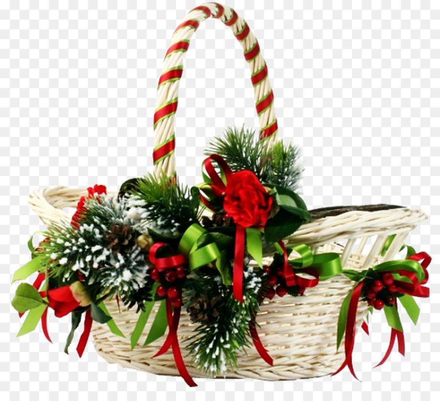 Картинка подарка в корзине