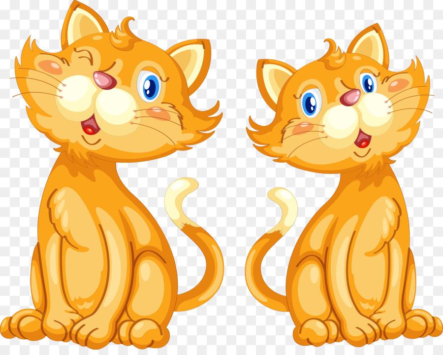 Два кота картинки для детей на прозрачном фоне