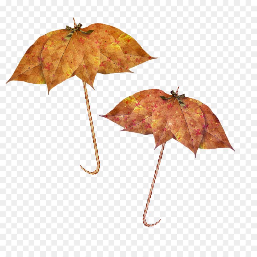 Картинки для детей листья осенние с зонтиками