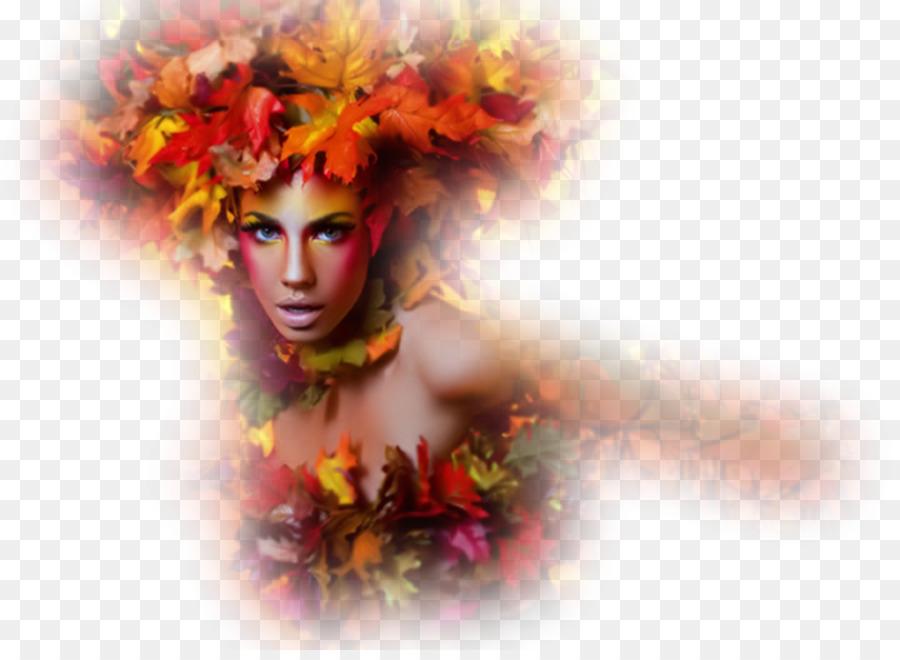 Картинки леди осень на прозрачном фоне