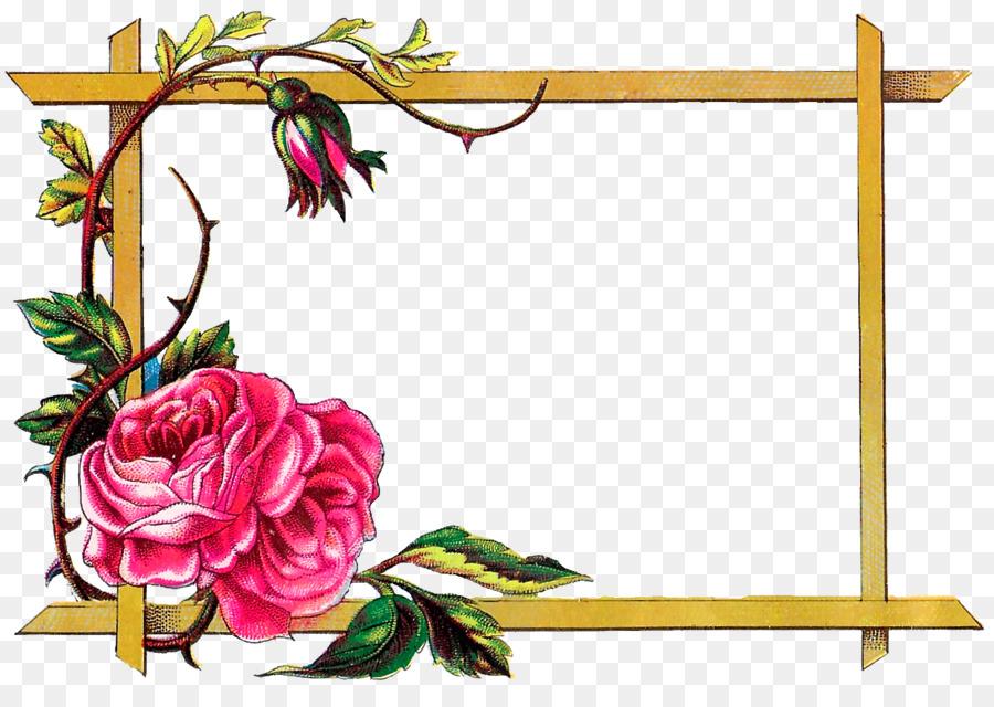 Картинки цветов для рамок