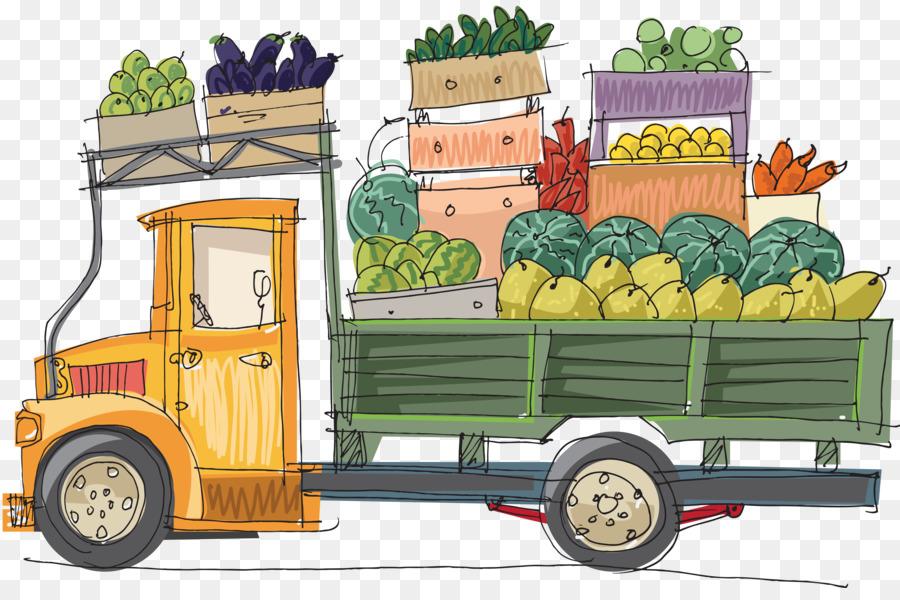 древности каждой картинки машина с овощами одном