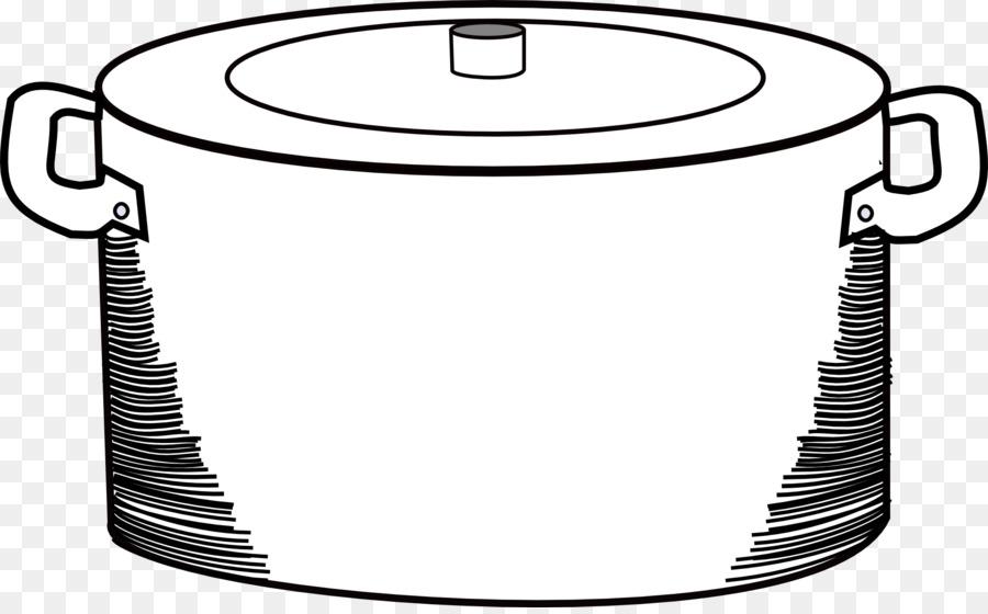 Картинка кастрюля для раскраски