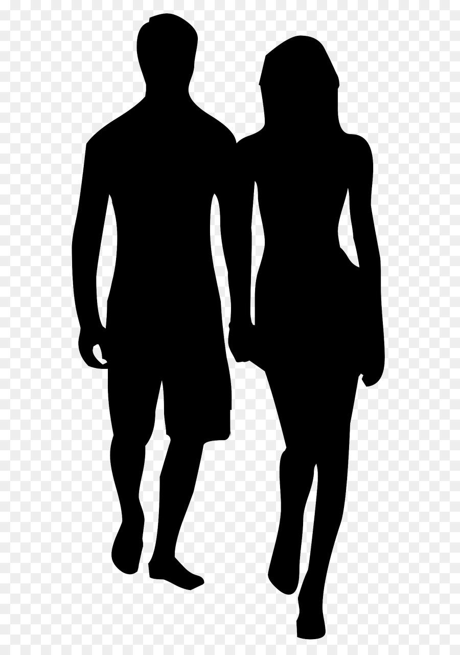 Силуэт женщины и мужчины картинки