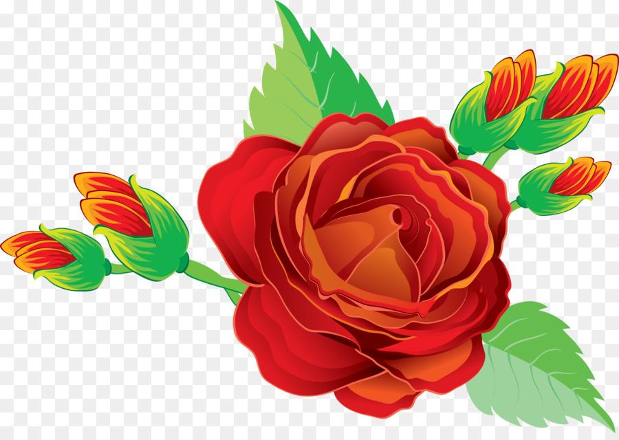 Открытка, картинка цветов розы для детей