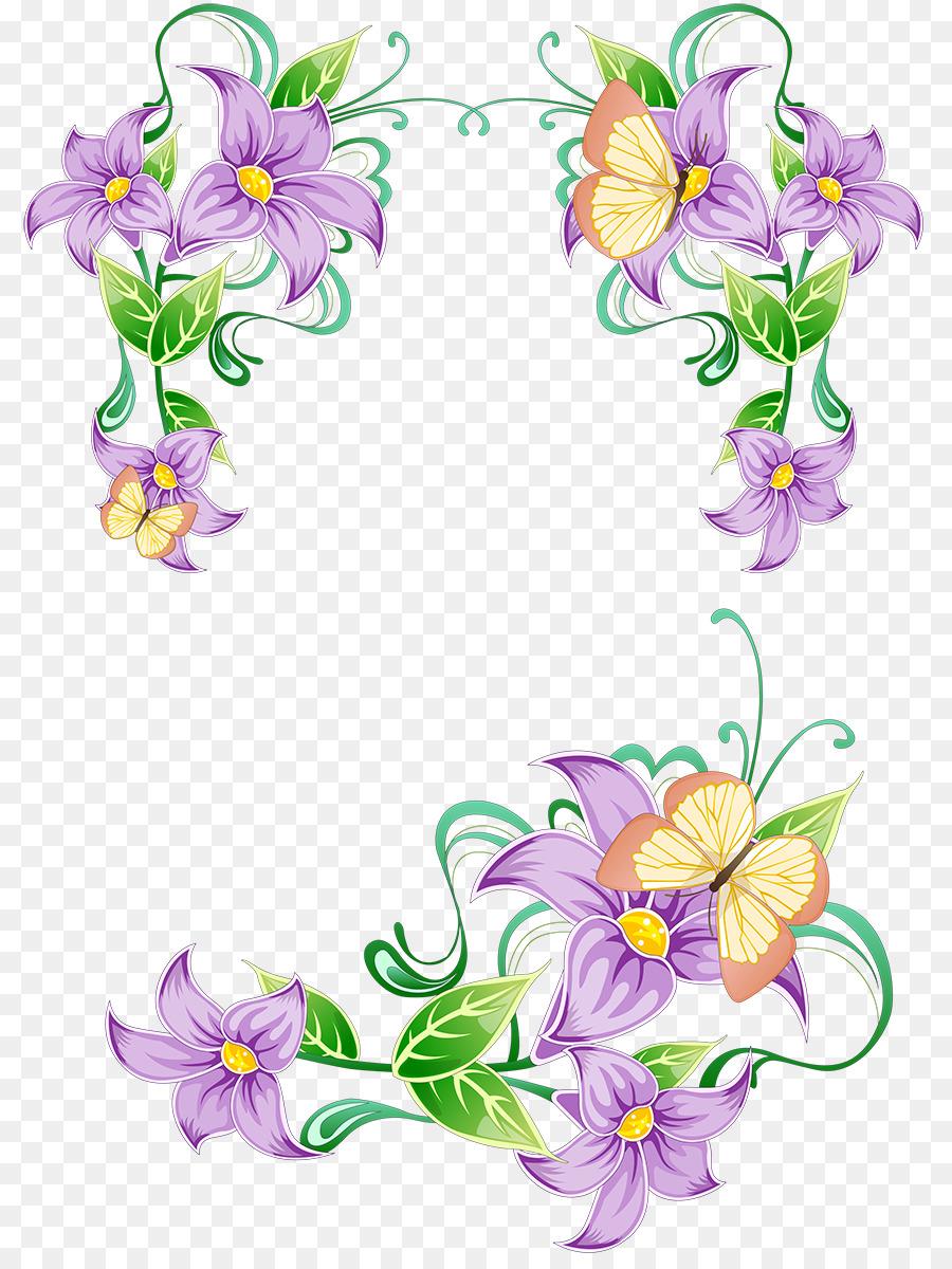 Цветочные узоры для открыток, елочки снегу