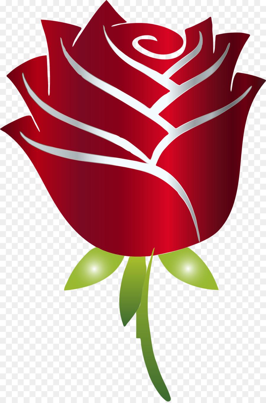 Картинка розы символами
