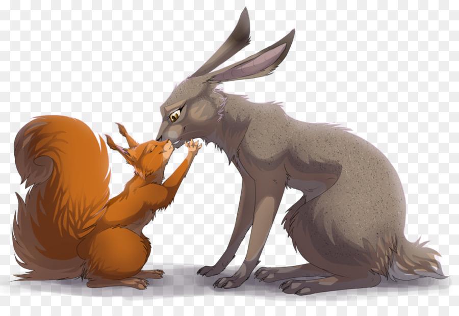 картинка зайца и белочки это графические