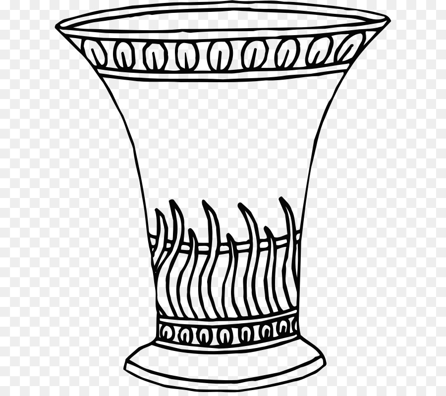 Картинка вазы на столе рисунок