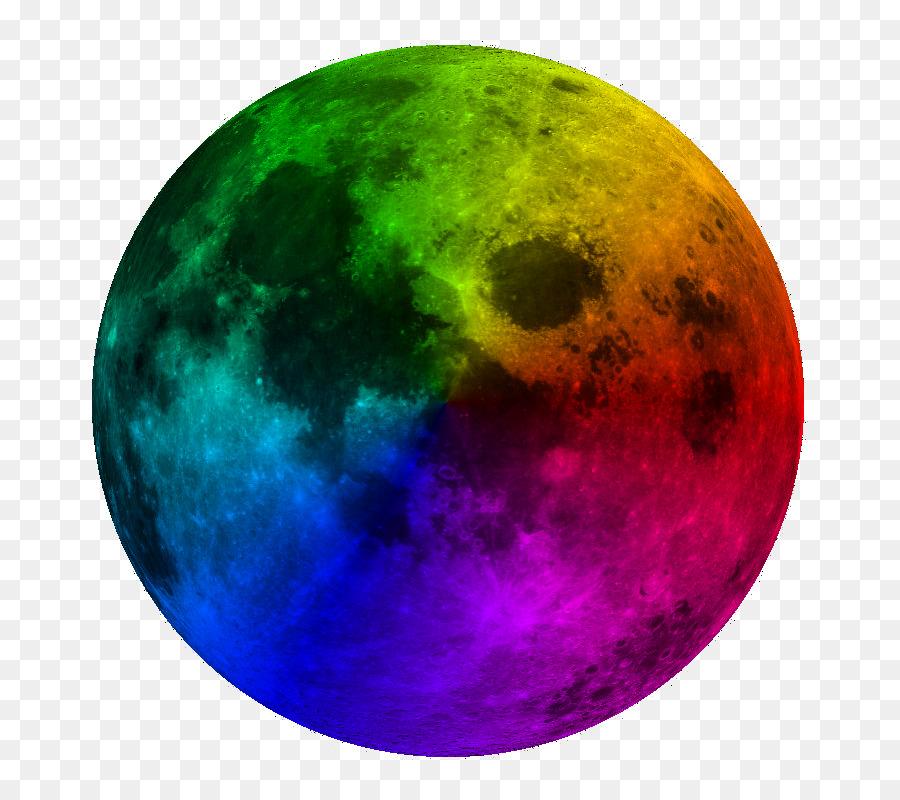 картинки луны цветной виды данных