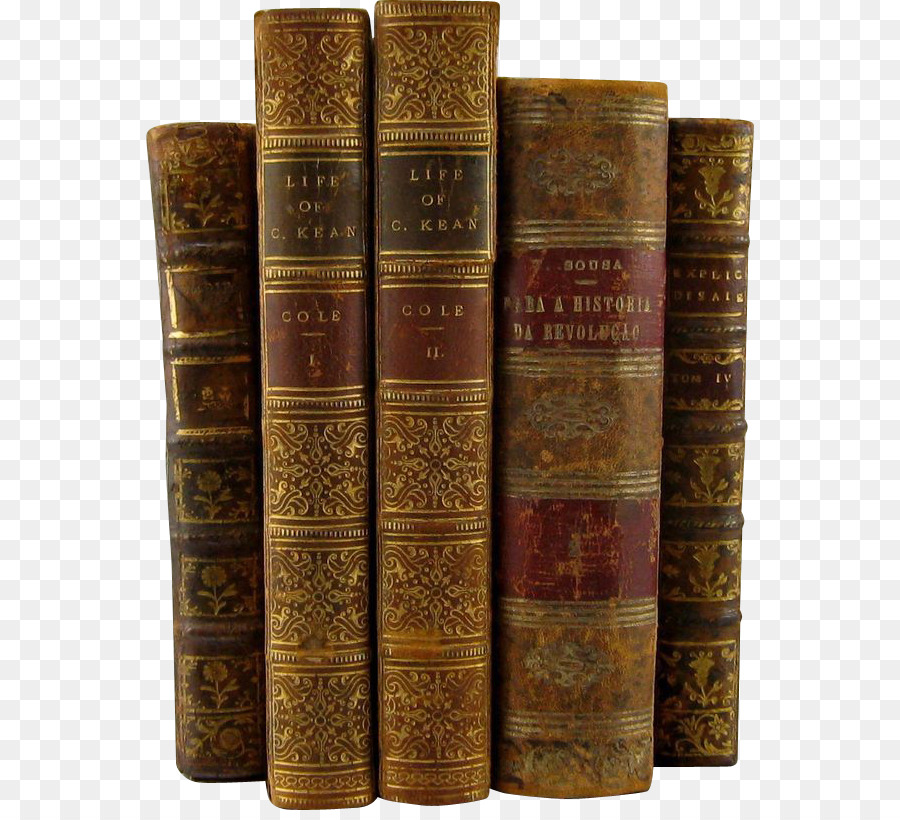 Картинка старинные книги на прозрачном фоне