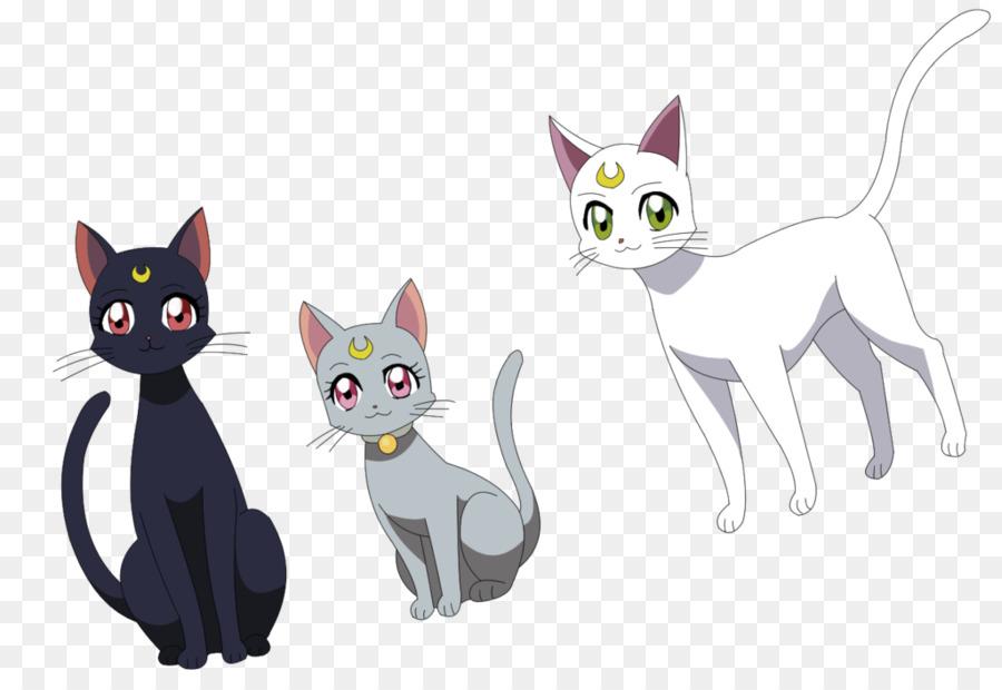 Сейлормун картинки кошка