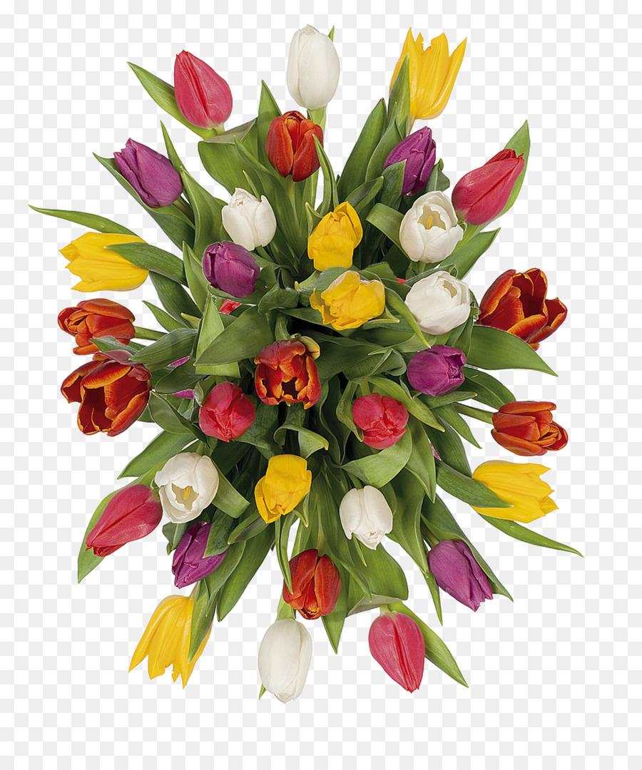 Шаблон букет тюльпанов анимация фото