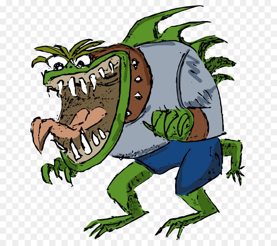 Смешная картинка чудовище