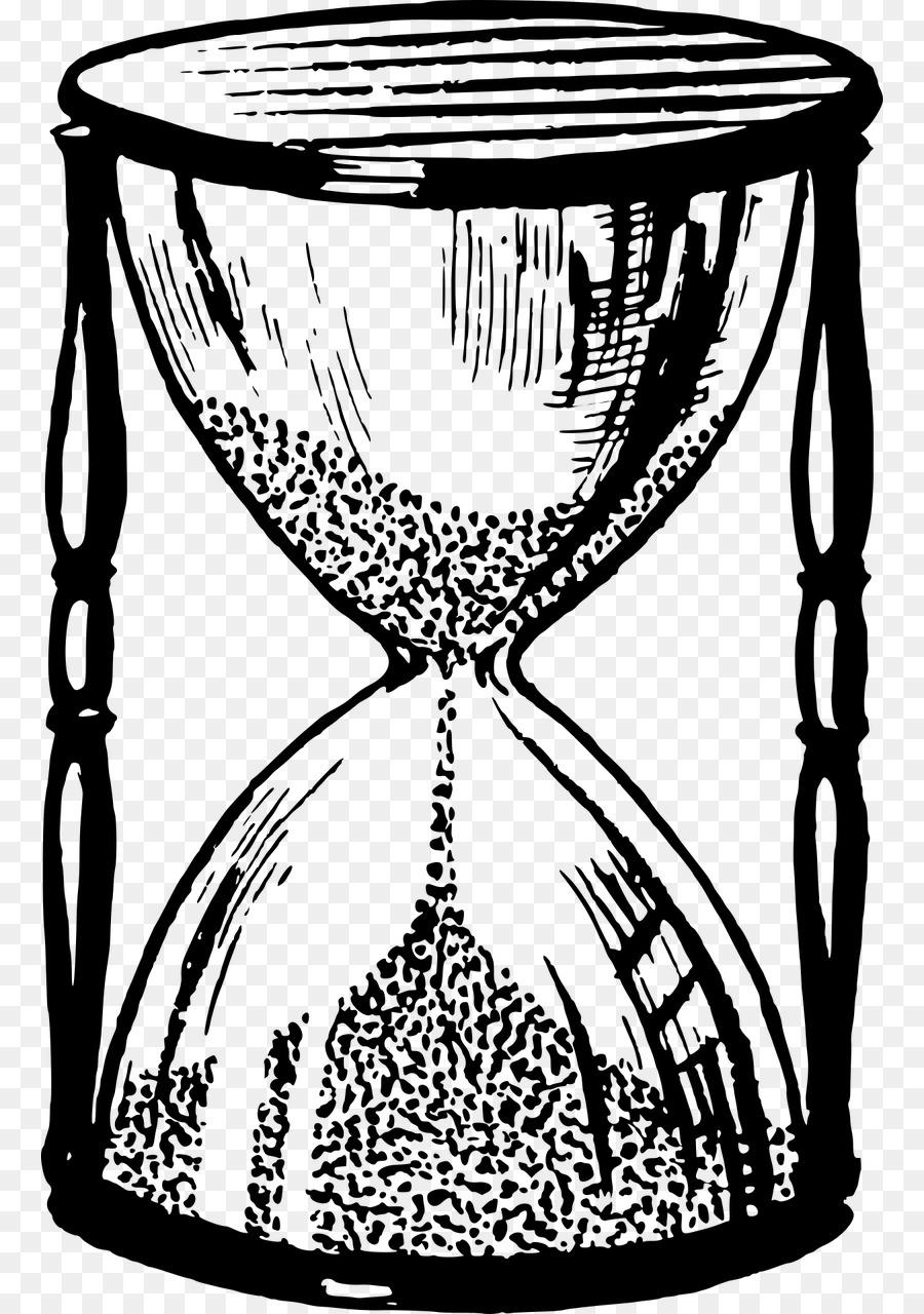 Картинки песочные часы карандашом