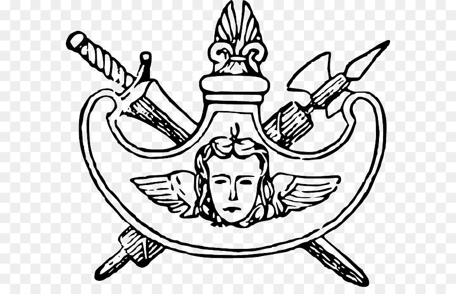 щит и меч картинка черно белая большинстве