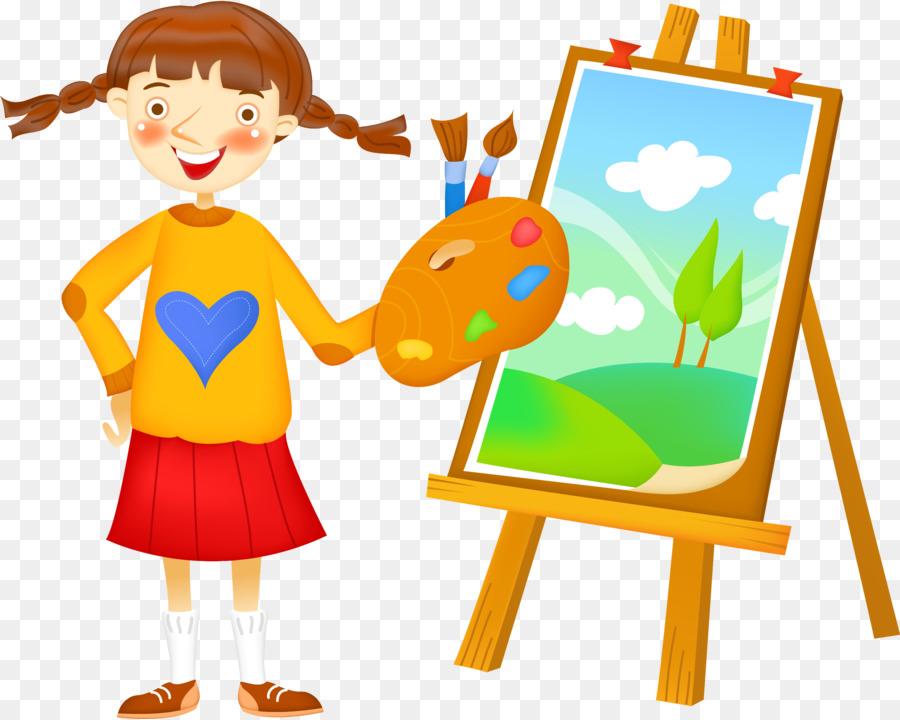 Рисунок рисующих детей