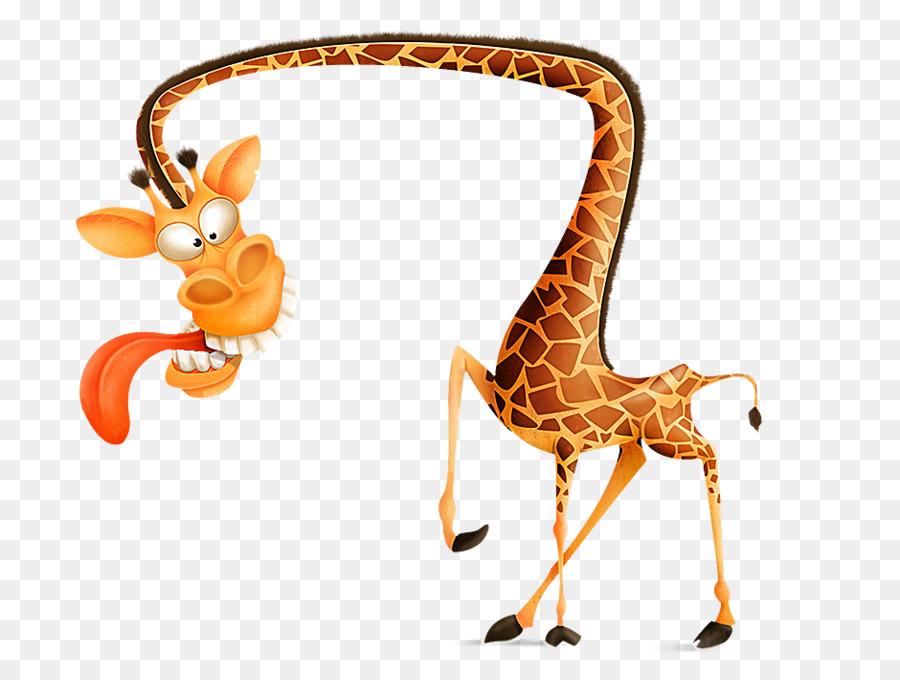 Рисунки жирафов прикольные
