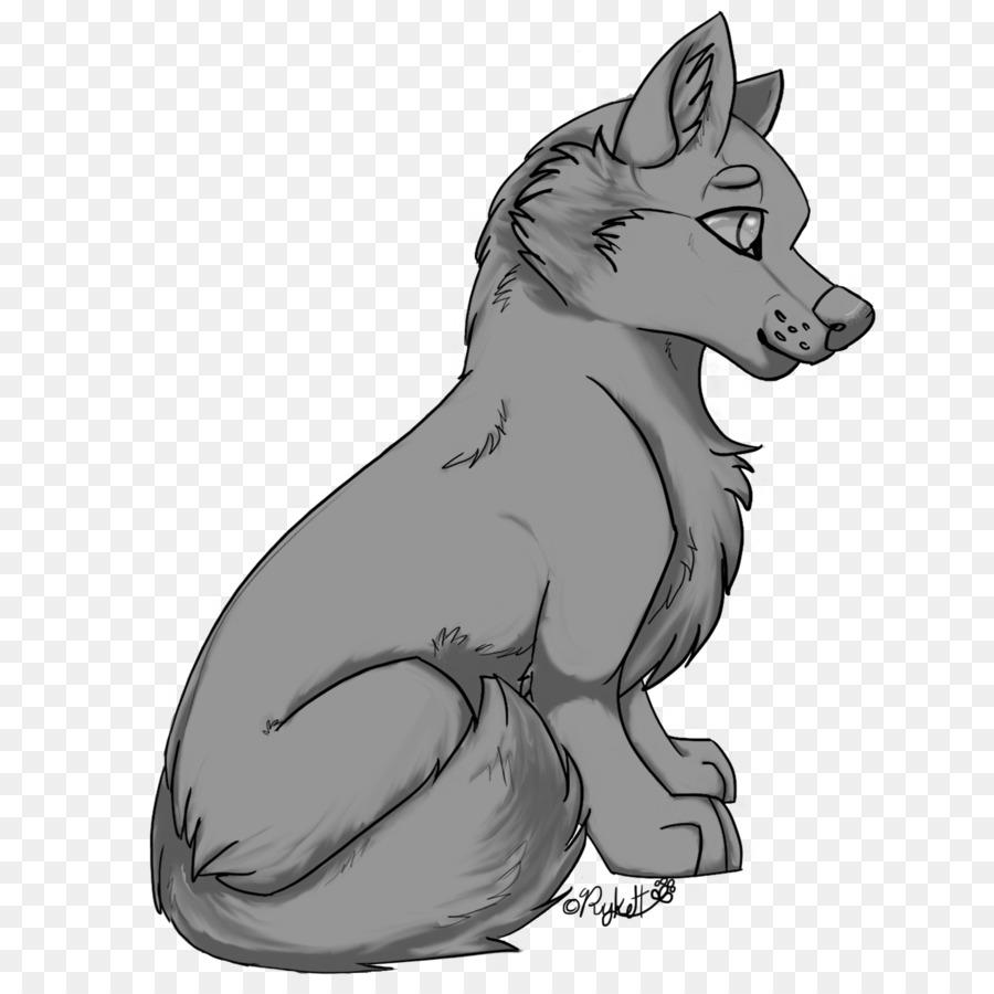 Картинки серого волка нарисованные