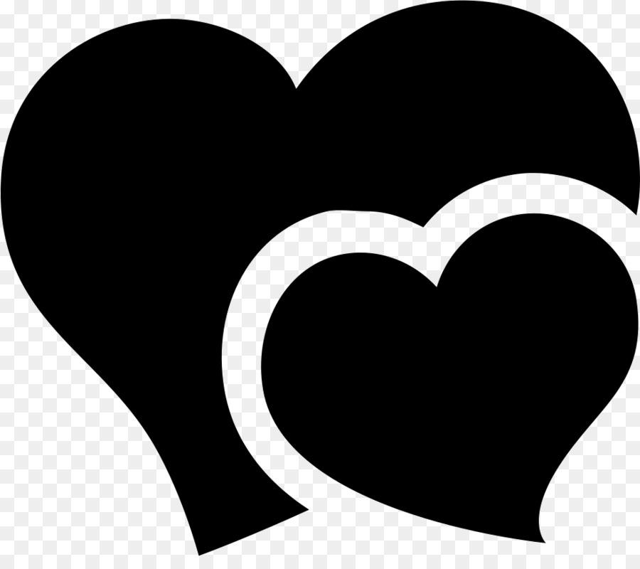 картинка два сердца черно белые обустройстве маленьких