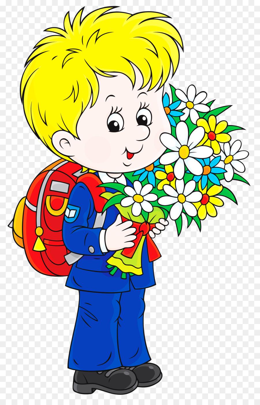 Мальчик с цветами картинки для детей на прозрачном фоне