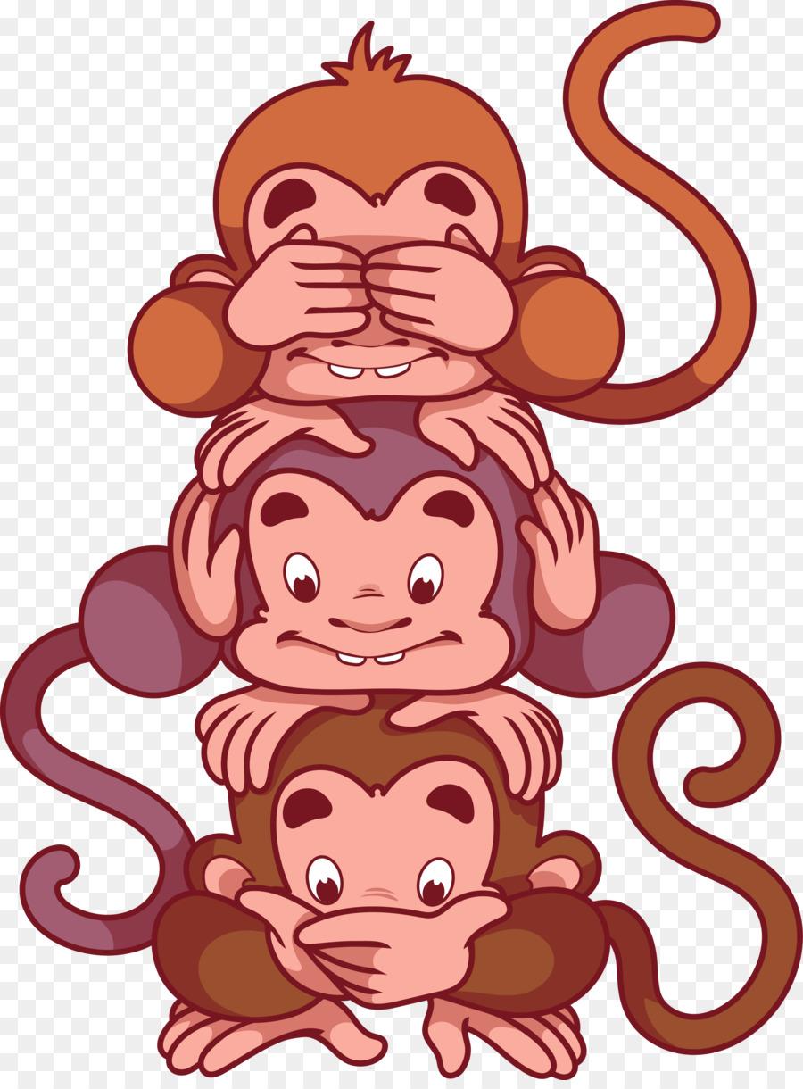 картинки трех обезьянок вас есть