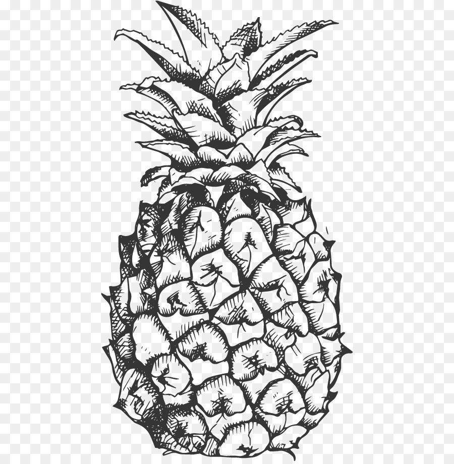 многих ананас черно белый картинки использования этом веке