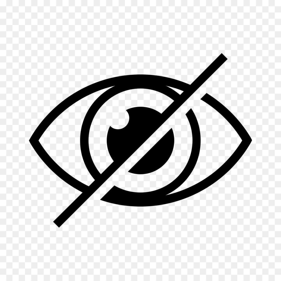 компьютерные иконки, глаз, информация