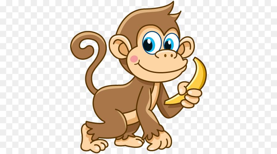 Картинка обезьянка нарисовать