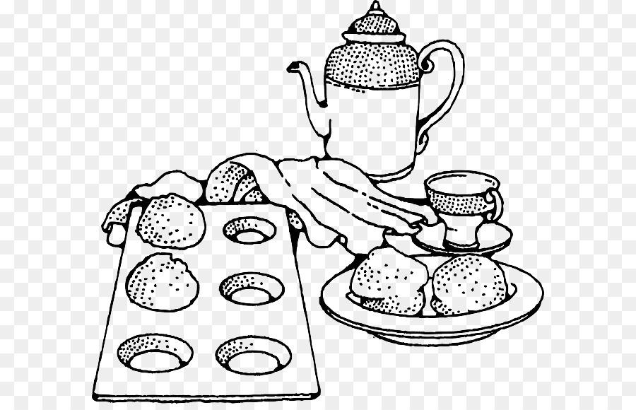 раскраска меню завтрака