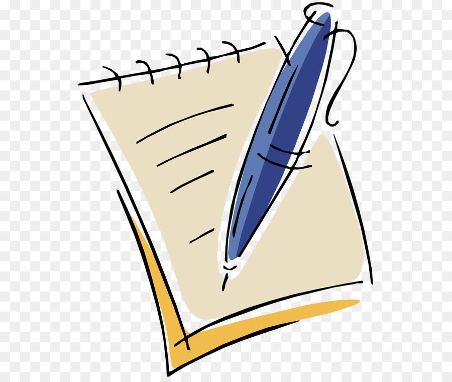 Бумага с ручкой картинка