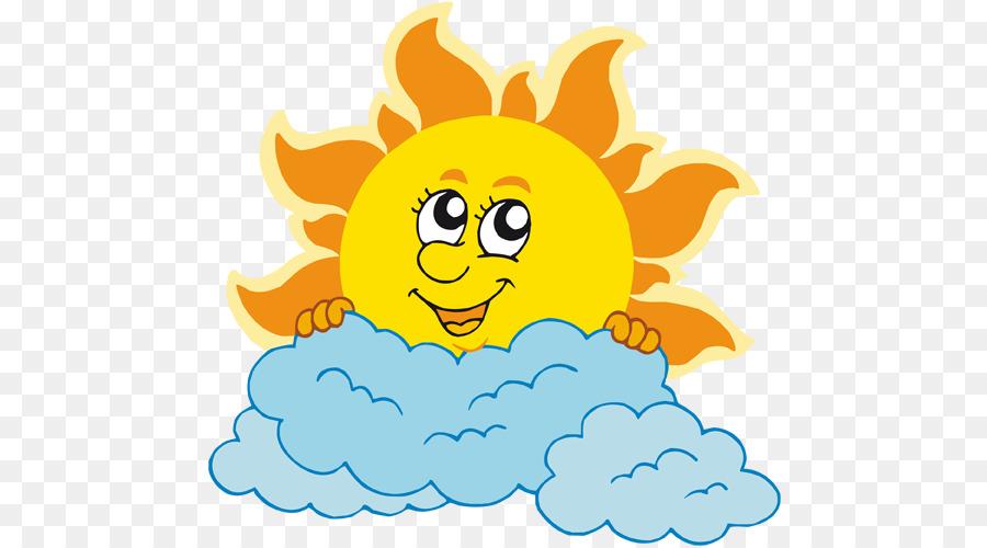 солнце и туча картинки живые