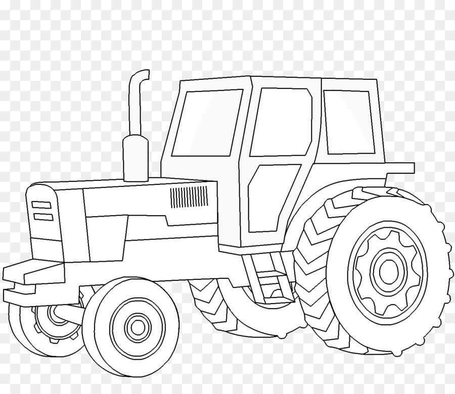 Картинки трактора для срисовки