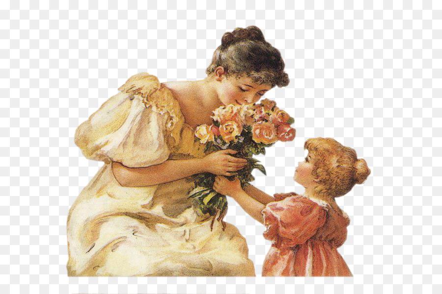 Картинка анимация мама и ребенок