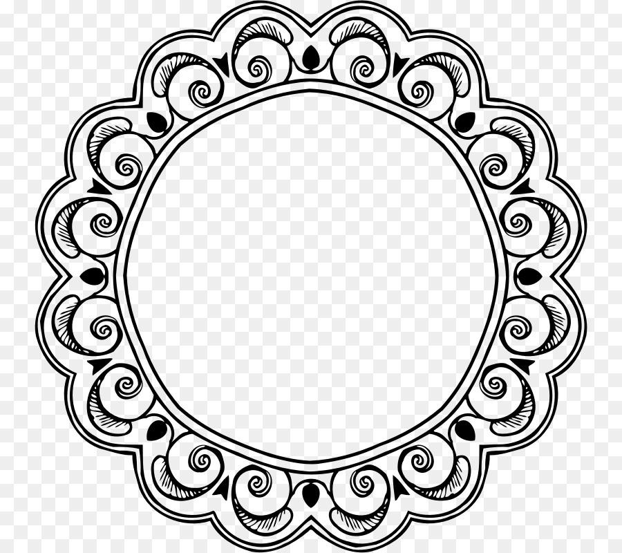 Круглые узоры в картинках