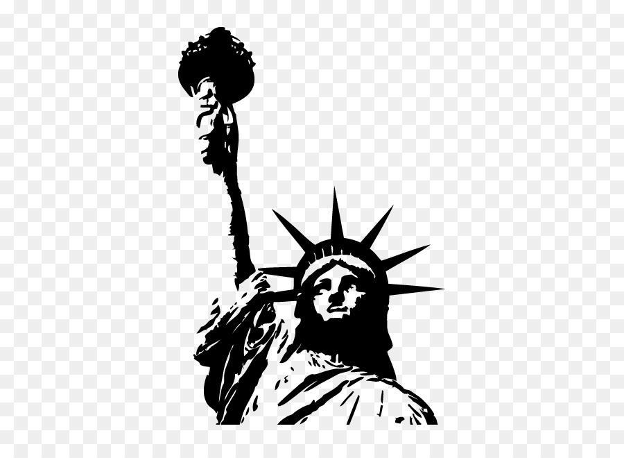 Картинки черно белые статуя свободы