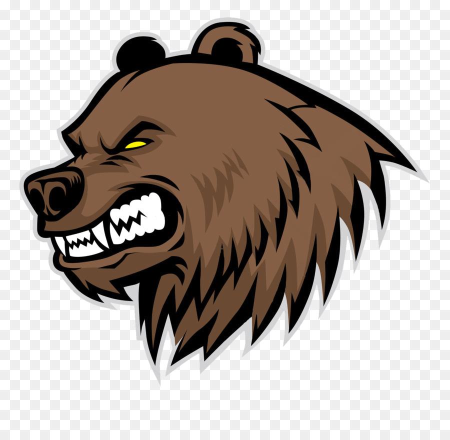 Картинки медведя гризли мультяшного