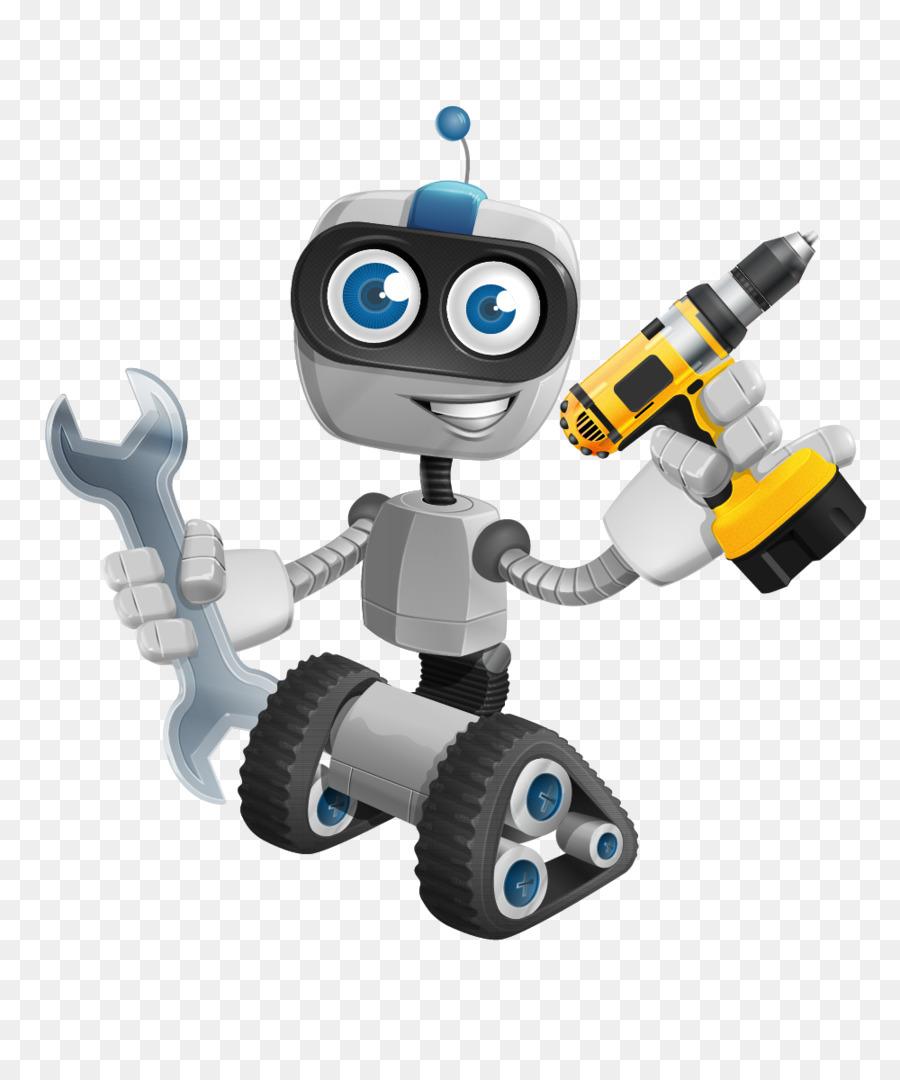 Робот веселый картинка