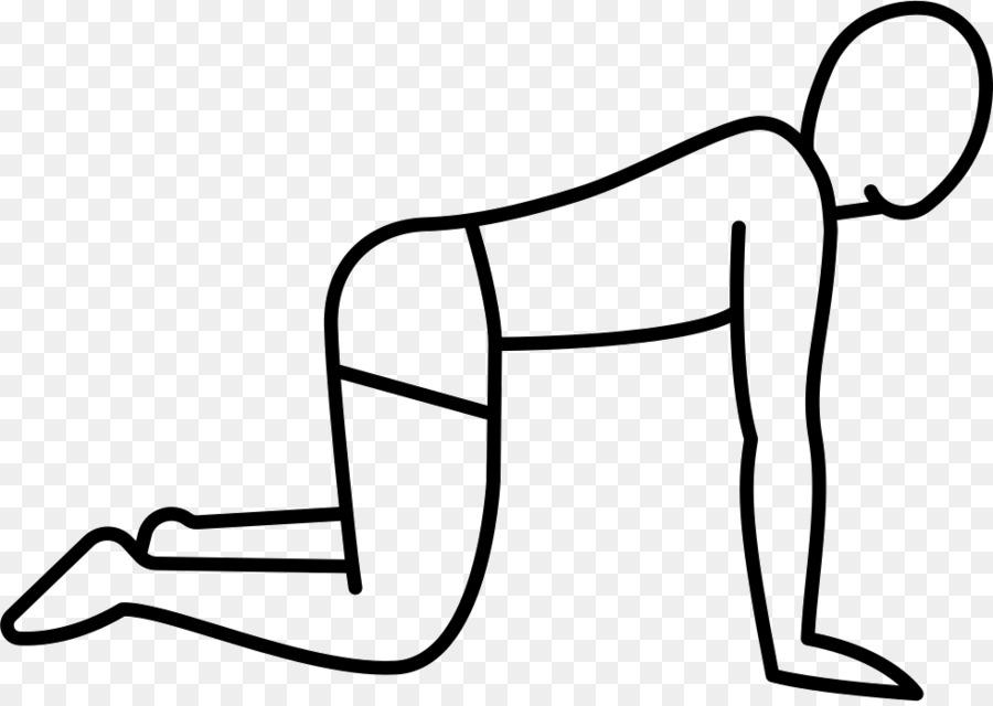 картинка человечек на коленях это