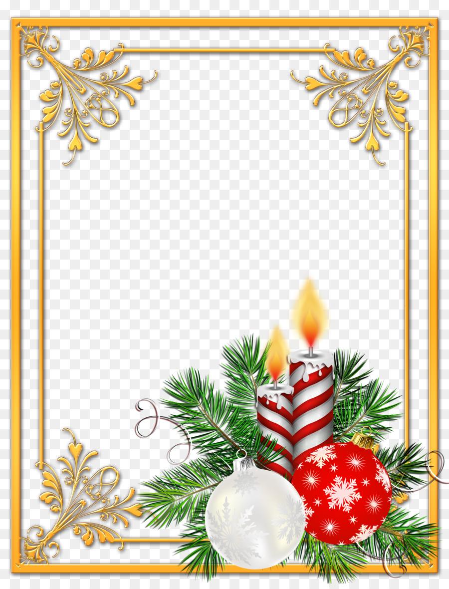 Новогодние оформления для открыток