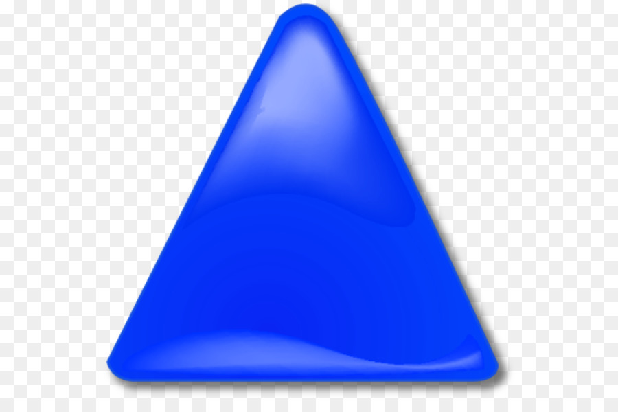 Картинка синего треугольника для детей