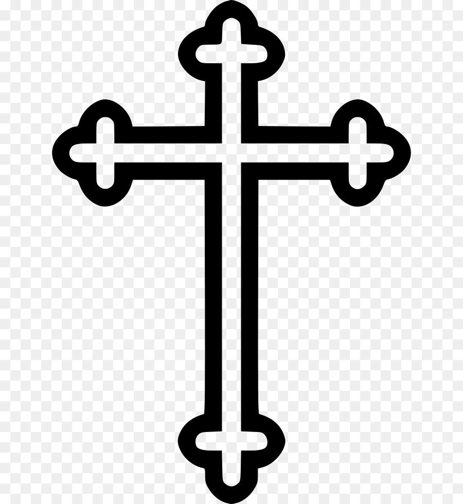 Картинка крестик церковный