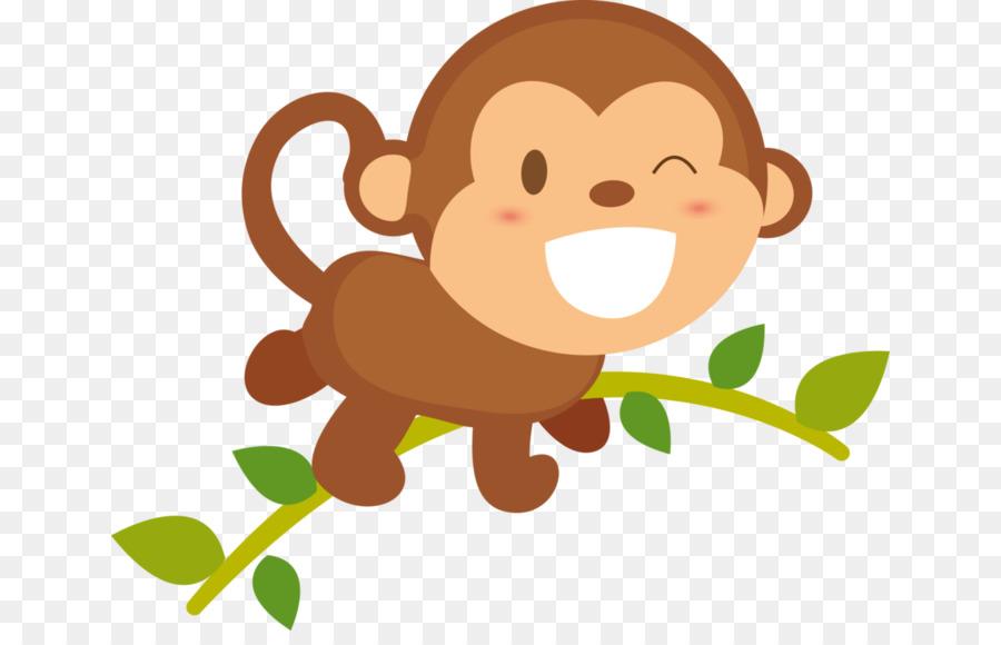 Смешные обезьянки в рисунках