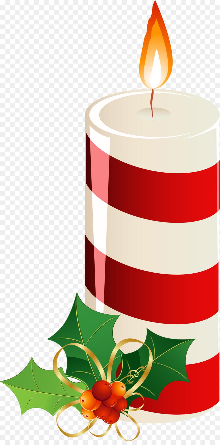 Рождественская свеча картинки нарисованные