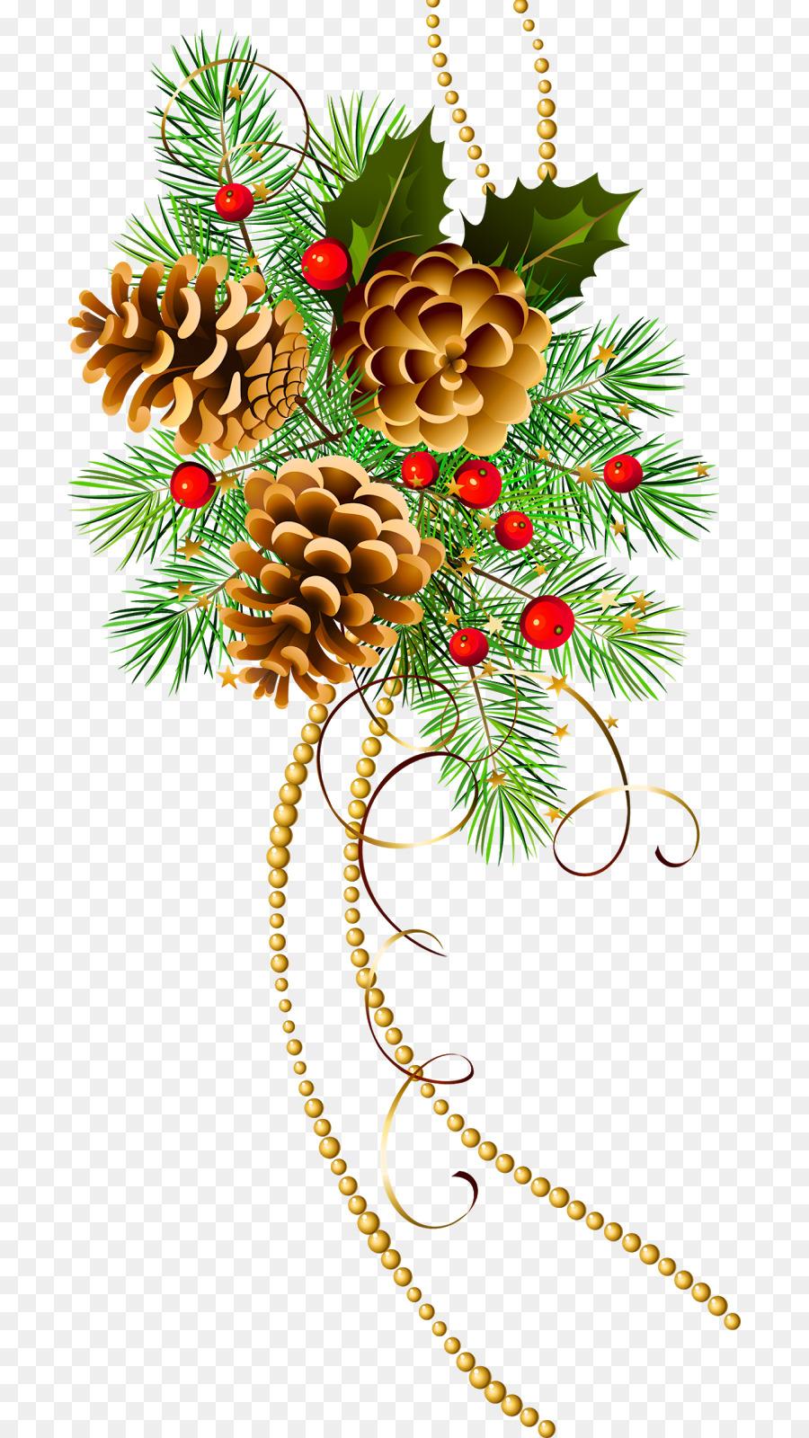 новогодние ветки открытки штора