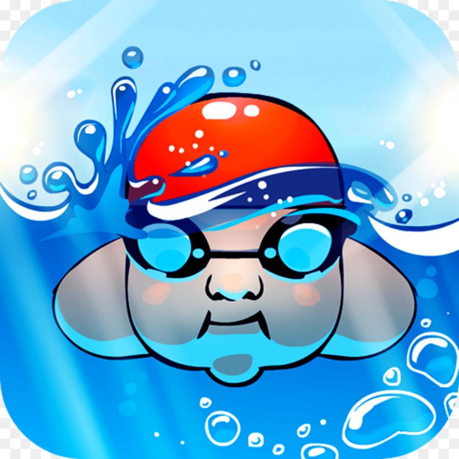 Картинки детские пловец