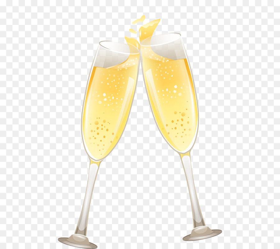 Открытки юбилеем, картинки бокал шампанского на прозрачном фоне