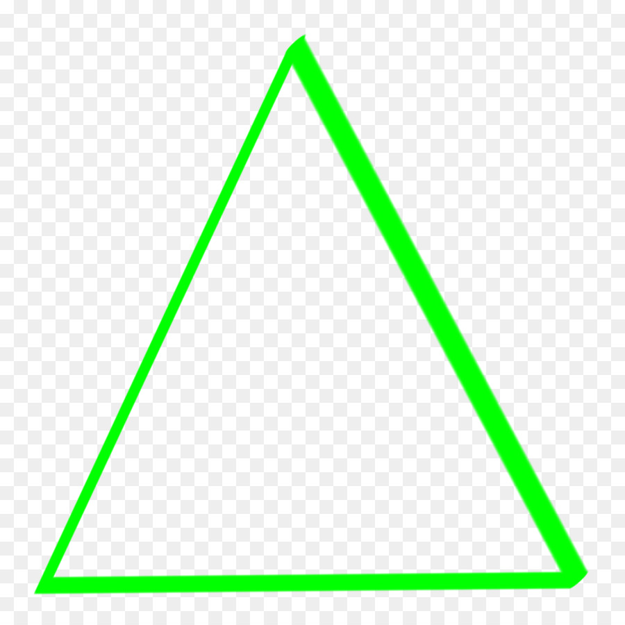 Картинки зеленый треугольник для детей
