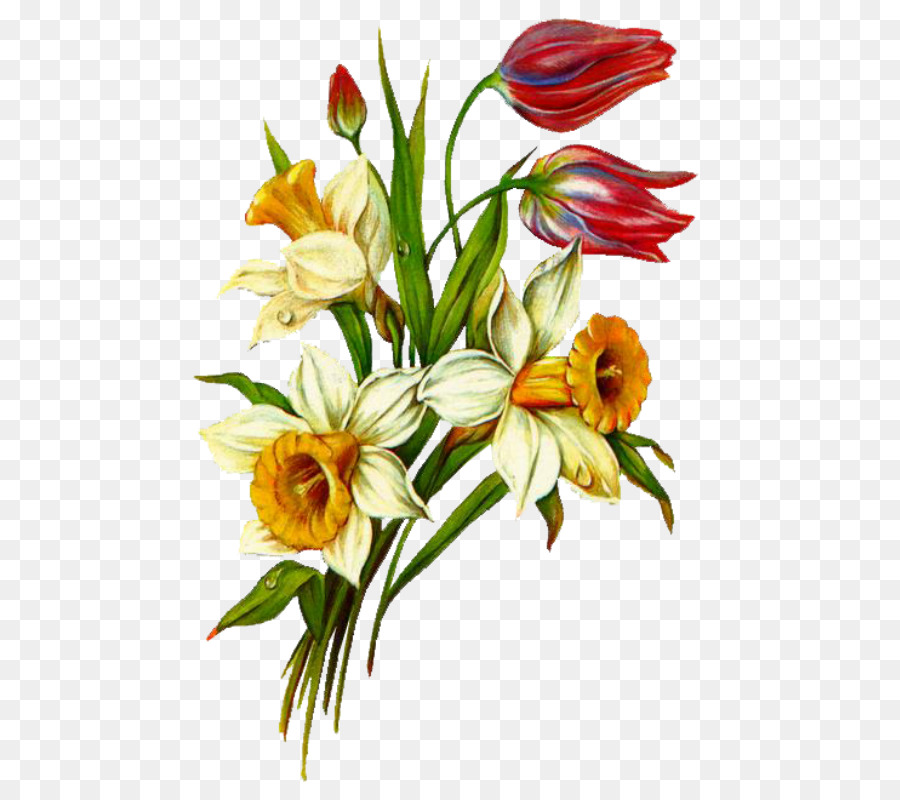 Открытки с изображением цветов для детей, день