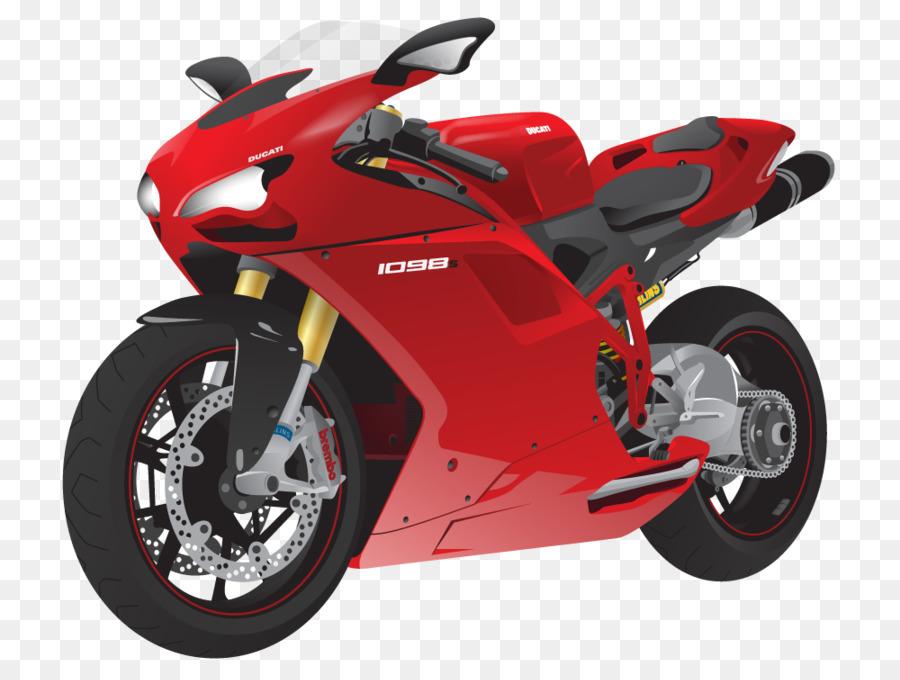 красный мотоцикл картинки рисунки поверх изображения